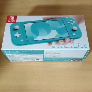 ニンテンドースイッチ(Nintendo Switch)の新品! Nintendo Switch Lite ターコイズ(携帯用ゲーム機本体)