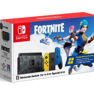 フォートナイト Nintendoswitch コード付き 新品未使用(家庭用ゲーム機本体)