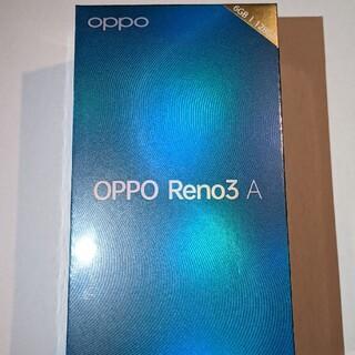 ANDROID - 【完全未開封!】OPPO RENO3A(ブラック)★シムフリー(128GB)