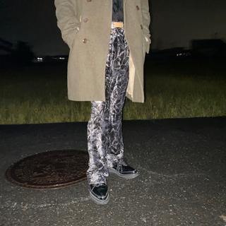 ジョンローレンスサリバン(JOHN LAWRENCE SULLIVAN)の✔︎80s velours flare pants (その他)