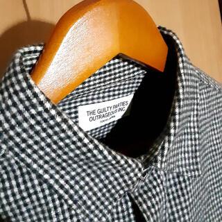 ワコマリア(WACKO MARIA)のワコマリア WACKOMARIA ギンガムチェックシャツ ウールシャツ M(シャツ)