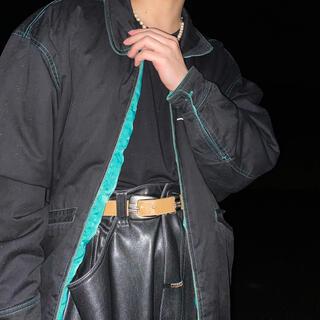 シュプリーム(Supreme)の✔︎80s leather cargo pants(ワークパンツ/カーゴパンツ)