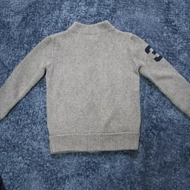 Ralph Lauren(ラルフローレン)のラルフローレン ニットカーディガン 115センチ キッズ/ベビー/マタニティのキッズ服男の子用(90cm~)(ジャケット/上着)の商品写真
