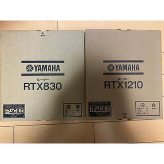 ヤマハ(ヤマハ)のYAMAHA /  RTX1210 RTX830(PC周辺機器)