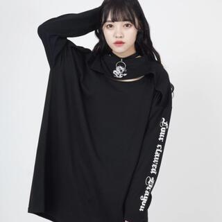 アンクルージュ(Ank Rouge)のJamie 龍刺繍ロンte(Tシャツ(長袖/七分))