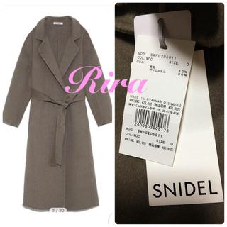 snidel - 完売色🌷新作新品🍀スナイデル ロングリバーコート