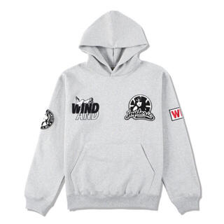 HYSTERIC GLAMOUR - WIND AND SEA × HYSTERIC GLAMOUR HOODIE