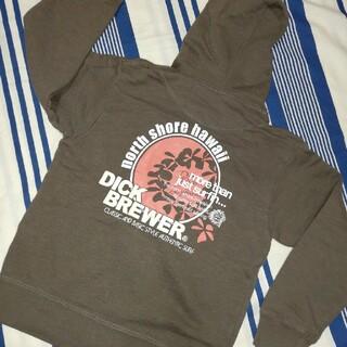 ディックブリューワー(Dick Brewer)のDICK BREWER  size110 パーカー(サーフィン)