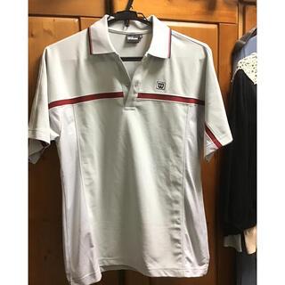 ウィルソン(wilson)のウィルソン テニスウェア 半袖ポロシャツ グレー(ウェア)
