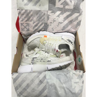 OFF-WHITE - OFF-WHITE × NIKE AIR PRESTO 27.0