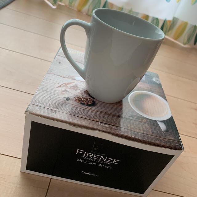 Francfranc(フランフラン)のフランフラン マグカップ インテリア/住まい/日用品のキッチン/食器(グラス/カップ)の商品写真