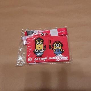 ジャル(ニホンコウクウ)(JAL(日本航空))の新品 JAL×USJ 非売品 ミニオン オリジナルパスケース②(キャラクターグッズ)
