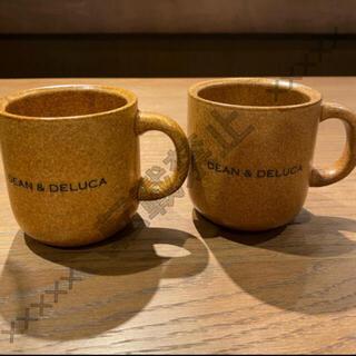 ディーンアンドデルーカ(DEAN & DELUCA)の完売品‼️  DEAN &  DELUCA  マグカップ ハニーブラウン 2個(グラス/カップ)