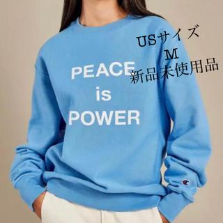MOMA -  オノ・ヨーコ:PEACE is POWER スウェットUSサイズM