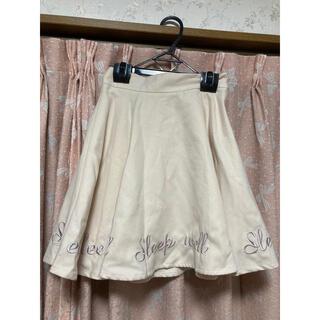 アンクルージュ(Ank Rouge)のAnkRouge♡フレアスカート♡冬♡新品タグ付き(ひざ丈スカート)