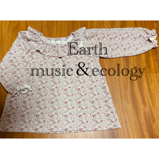earth music & ecology - earth music&ecology 女児トレーナー(95cm)