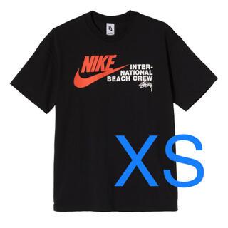 ナイキ(NIKE)のSTUSSY NIKE BEACH POSSE TEE ステューシー ナイキ 黒(Tシャツ/カットソー(半袖/袖なし))