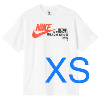 ナイキ(NIKE)のSTUSSY NIKE BEACH POSSE TEE ステューシー ナイキ 白(Tシャツ/カットソー(半袖/袖なし))