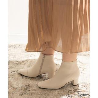 RANDA - ランダ ホワイトショートブーツ♡
