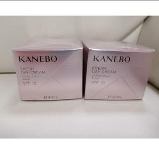 カネボウ(Kanebo)の再々入荷!KANEBO フレッシュデイクリーム2個(フェイスクリーム)