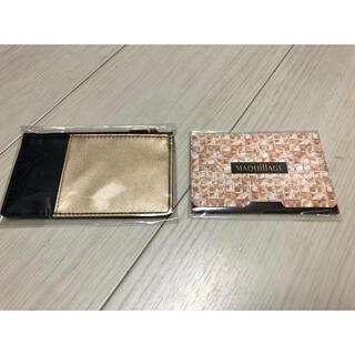 マキアージュ(MAQuillAGE)のマキアージュ オリジナルカードケース&あぶらとり紙 2つセット (あぶらとり紙)