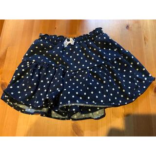 エニィファム(anyFAM)のanyFAM  キュロットスカート 130cm(スカート)
