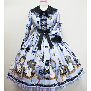 Angelic Pretty - Princess Cat ワンピース ラベンダー Angelic Pretty
