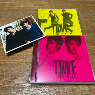 トウホウシンキ(東方神起)の東方神起 / TONE 【初回限定盤A(CD+ DVD)】【通常盤】(K-POP/アジア)