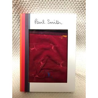 ポールスミス(Paul Smith)の新品 ポールスミス ボクサーパンツ M アンダーウェア 下着 プレゼント レッド(ボクサーパンツ)