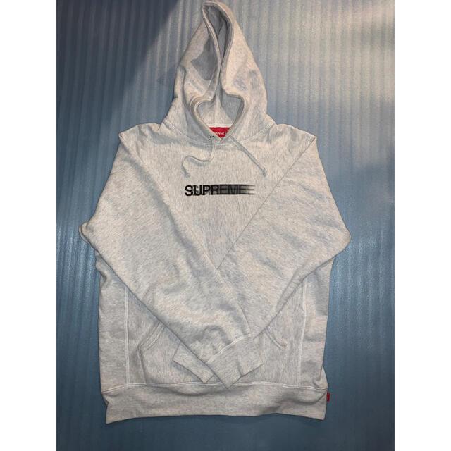 Supreme(シュプリーム)のSupreme Motion Logo Hooded Sweatshirt メンズのトップス(パーカー)の商品写真