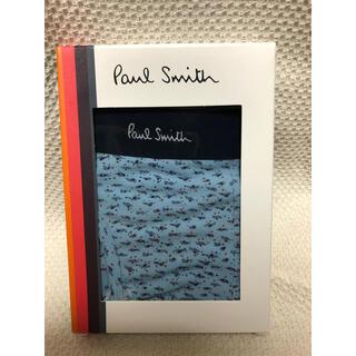ポールスミス(Paul Smith)の新品 ポールスミス ボクサーパンツ M アンダーウェア 下着 プレゼント ブルー(ボクサーパンツ)