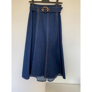 プロポーションボディドレッシング(PROPORTION BODY DRESSING)のデニムスカート (ロングスカート)