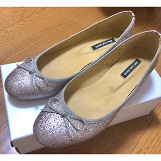 NATURAL BEAUTY BASIC - natural beauty basic ラメ パンプス バレーシューズ 靴