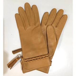 ロエベ(LOEWE)のLOEWE レザーグローブ 6ハーフ(手袋)