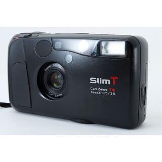 キョウセラ(京セラ)の◆美品◆ 京セラ Slim T Carl Zeiss 35mm/F3.5(フィルムカメラ)
