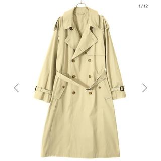 SUNSEA - stein double shade trench coat  ベージュ