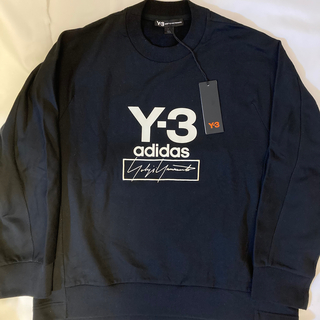 Y-3 - Y-3 ワイスリー Stacked Logo Crew sweater
