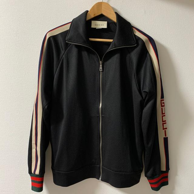 Gucci(グッチ)の【GUCCI】17AW テクニカルジャージー ジャケット ジャージ ブルゾン S メンズのトップス(ジャージ)の商品写真