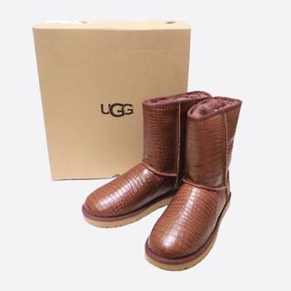 アグ(UGG)の★新品★UGG★W Classic Short Croco(Spice/W11)(ブーツ)
