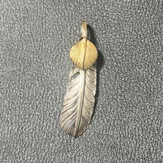 アリゾナフリーダム(ARIZONA FREEDOM)のアリゾナフリーダム  上金フェザー(ネックレス)