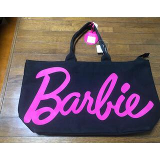 バービー(Barbie)の【新品タグ付】バービー❤︎Barbie❤︎トートバッグ❤︎ブラック(トートバッグ)