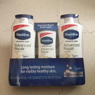 ヴァセリン(Vaseline)のヴァセリン ボディーローション 600ml×2本 + 295ml(ボディローション/ミルク)