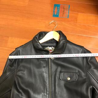 ハーレーダビッドソン(Harley Davidson)のハーレー 革ジャン サイズ確認用(ライダースジャケット)