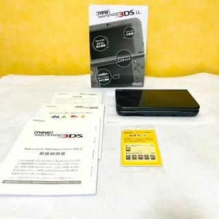 ニンテンドー3DS - 新品同様 Newニンテンドー3DS LL メタリックブラック 動作保証あり
