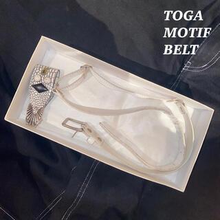 トーガ(TOGA)のTOGA VIRILIS トーガ ビリリース モチーフ ベルト 韓国系 モード(ベルト)