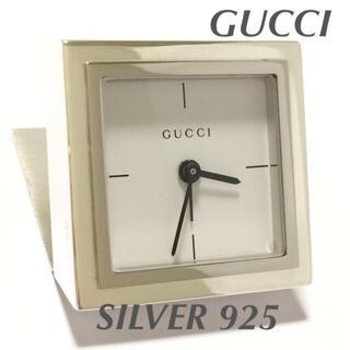 グッチ(Gucci)の10.美品 グッチ GUCCI 時計 SILVER 925 ITALY(腕時計)