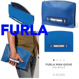 フルラ(Furla)の【美品】FURLA クラッチバッグ(セカンドバッグ/クラッチバッグ)