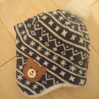 ホットビスケッツ(HOT BISCUITS)のミキハウス ホットビスケッツ ベビー帽子(帽子)