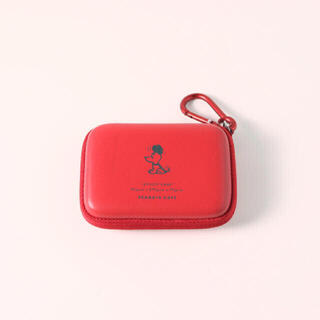 SNOOPY - PEANUTS Cafe × HIGHTIDE ユーティリティケース レッド