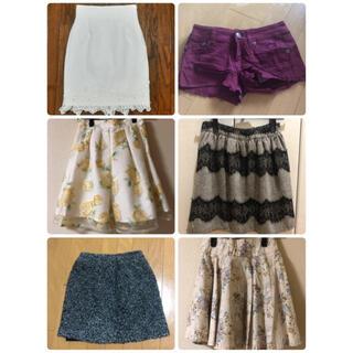 リゼクシー(RESEXXY)のミニスカート 膝丈スカート ショートパンツ まとめ売り(ミニスカート)